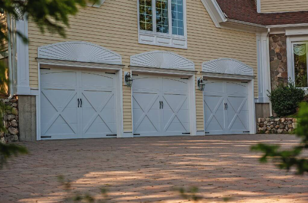 steel garage doors installed